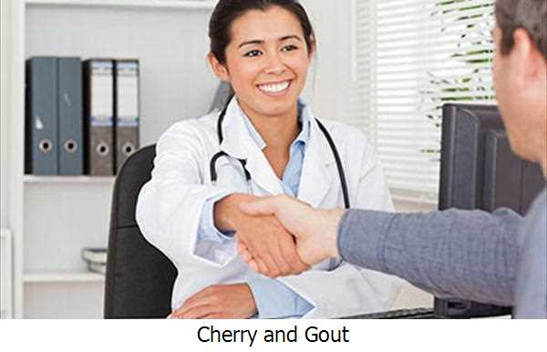 Cherry and Gout