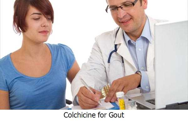 Colchicine for Gout