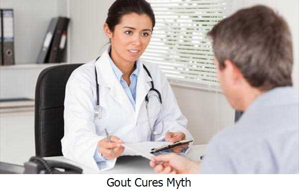 Gout Cures Myth