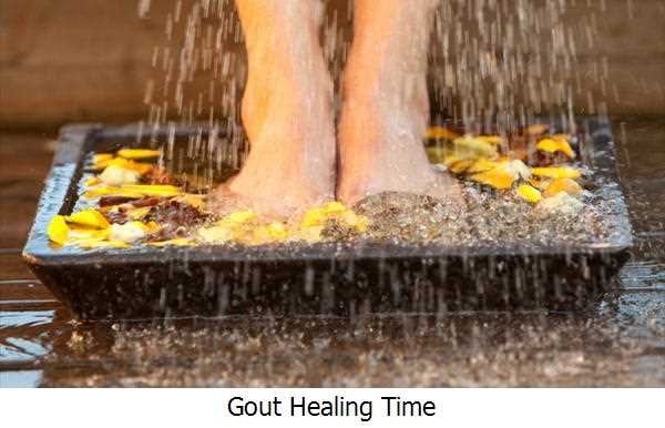 Gout Healing Time