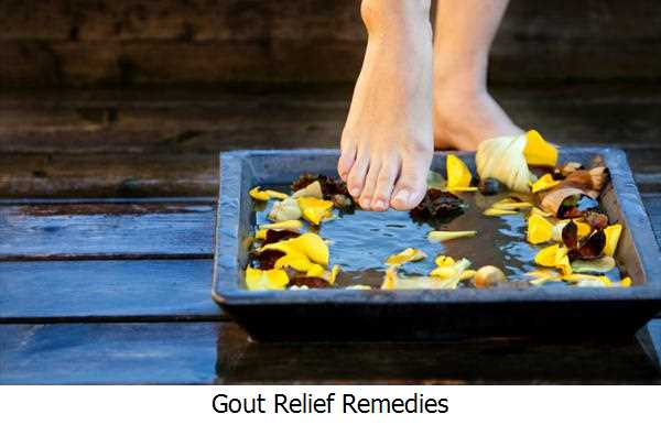 Gout Relief Remedies