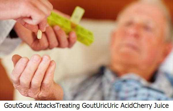 Gout,Gout Attacks,Treating Gout,Uric,Uric Acid,Cherry Juice