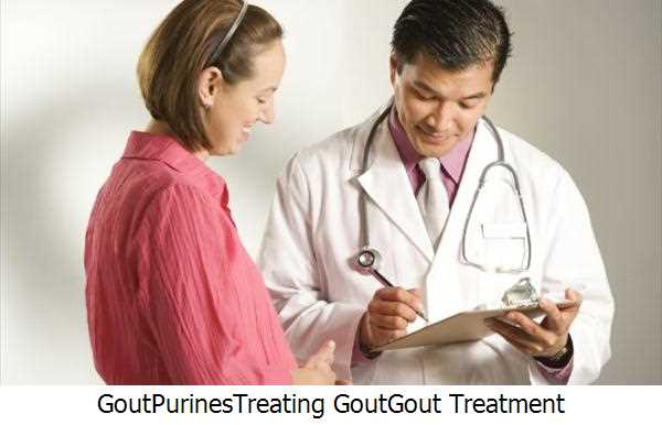 Gout,Purines,Treating Gout,Gout Treatment