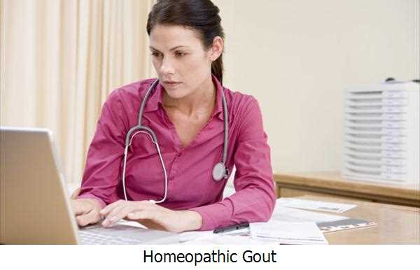 Homeopathic Gout