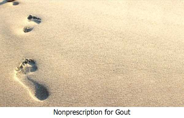 Nonprescription for Gout
