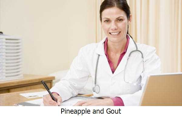 Pineapple and Gout