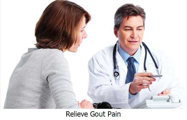 Relieve Gout Pain