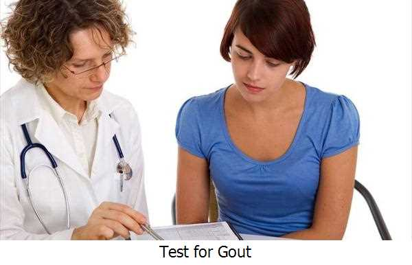 Test for Gout