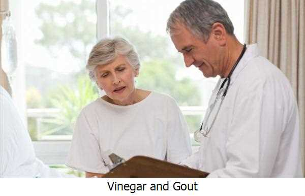 Vinegar and Gout