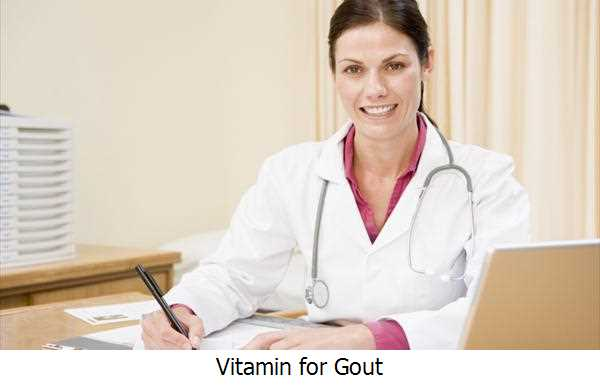 Vitamin for Gout